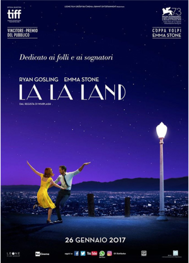 Cinema in tour: La La Land